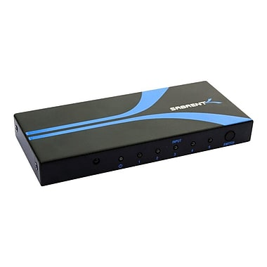 Sabrent 1080P HDMI Switch With Remote Control, 5 Ports