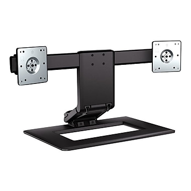 HP® Up To 24in. LCD Adjustable Dual Monitor Stand