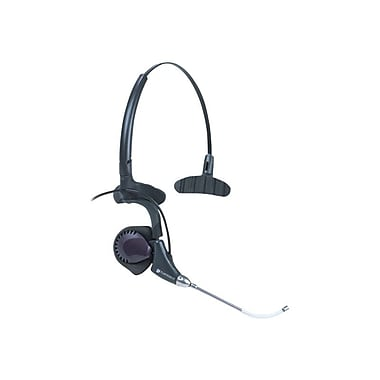 Plantronics ® DuoPro H171 Wired Over-the-Head Mono Headset with Mic, Black
