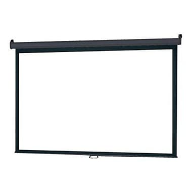 Infocus® SC-MAN 120in. Manual Pull Down Projection Screen, 4:3, White Casing