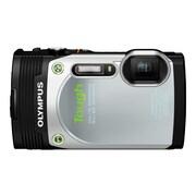 Olympus® Tough TG-850 16MP Compact Digital Camera, Silver