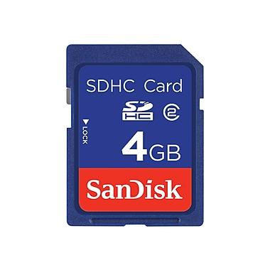 SanDisk® 4GB Secure Digital High Capacity (SDHC) Class 4 Memory Card