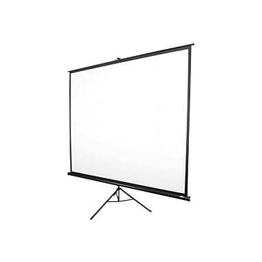 Elite Screens® Tripod Series 72in. Portable Projection Screen, 16:9, Black Casing