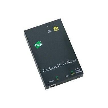 Digi® 70001898 PortServer® TS 1 M MEI Device Server With Modem, 1 Port