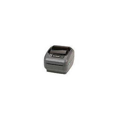 Zebra® GX42-202411-000 Direct Thermal Desktop Label Printer, 203 dpi (8 dots/mm)