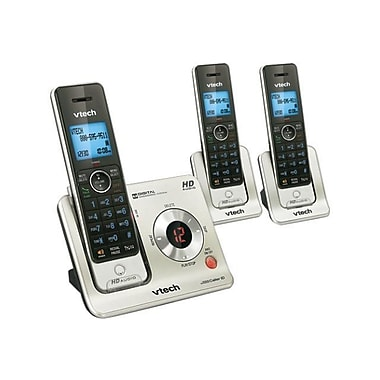 VTech® LS6425 3 Handset Answering System With Caller ID, 50 Name/Number