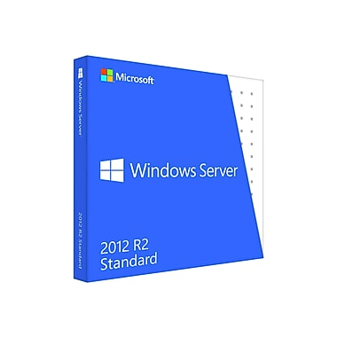 Microsoft Windows Server 2012 Standard R2 (64-bit) Software