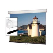"Draper® 206012 203.6"" Luma 2 Heavy-Duty Wall or Ceiling Projection Screen, 1:1, White Casing"