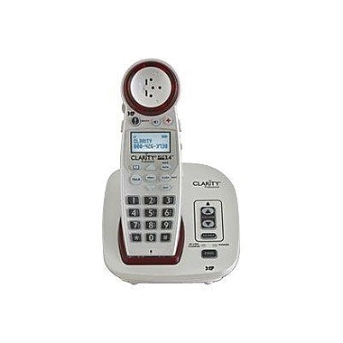 Clarity XLC3.4 Amplified Cordless Office Telephones, White