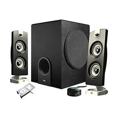 Cyber Acoustics CA-3602 30 W 3 Piece Satellite Speaker With 5 1/4in. Woofer