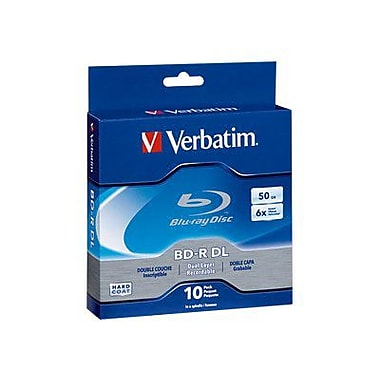Verbatim 97238 25 GB BD-R Spindle, 10/Pack