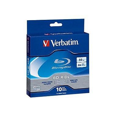 Verbatim® 97335 50GB Blu-ray Dual Layer Disc, Spindle, 10/Pack