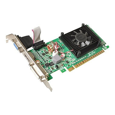 HP® NVIDIA GeForce 210 GPU 1 GB 64-Bit DDR3 SDRAM Memory Low profile Graphic Card