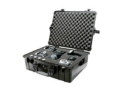 Pelican 1600 Shipping Case, Black IM1CB4948