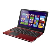 Acer Aspire E1-572-6660 15.6 LED Backlit LCD Intel i5 1 TB HDD, 6 GB, Windows 7 Professional 64-bit Laptop, Red