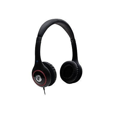 V7 HA510-2NP Deluxe Over-Ear Stereo Headphone, Black