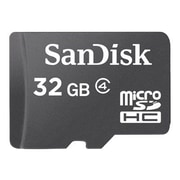 SanDisk® SDSDQM MicroSD High Capacity Flash Memory Card With Adapter, 32GB