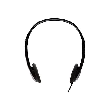 V7® HA300-2NP Stereo Headphone, Black