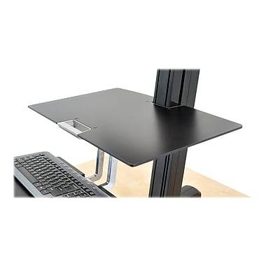 Ergotron WorkFit-S Work Surface, Black