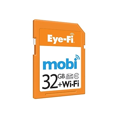 Eye-Fi® Mobi 32GB Secure Digital High Capacity (SDHC) Card
