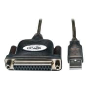 Tripp Lite U207-006 USB to Parallel Printer Adapter Cable, 6'