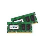 Crucial™ 8GB (2 x 4GB) DDR3 (204-Pin SODIMM) DDR3 1600 (PC3 12800) Unbuffered Notebook Memory Module