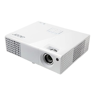 Acer® P1173 3000 Lumens 3D Ready DLP Projector, White, SVGA