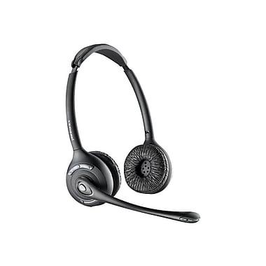 Plantronics CS520 Binaural Dect 6.0 Headset, Black