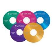 Verbatim 94300 700 MB CD-RW Slim Jewel Case, 20/Pack