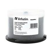 Verbatim® DataLifePlus 4.7GB 16X Inkjet Hub Printable DVD-R, Spindle, 50/Pack