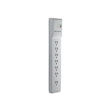 Belkin™ 7-Outlet 2320 Joule Surge Protector With 4' Power Cord and Telephone Protection