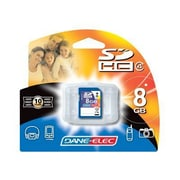 Dane-Elec DA-SD Secure Digital High Capacity Flash Memory Card, 8GB