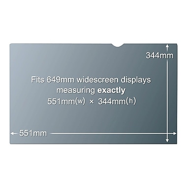 3M™ PF26.0W Privacy Screen Filter For 26
