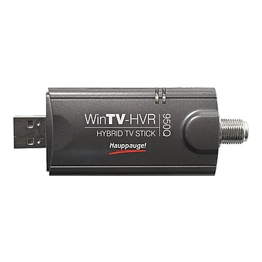 HAUPPAUGE 1191 USB Tuner Hybrid TV Stick, 2.7in.(H) x 6.3in.(W) x 9in.(L)
