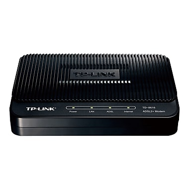 TD-8616 1 x Ethernet Port ADSL2+ Modem with Bridge Mode By TP-LINK USA Corporation