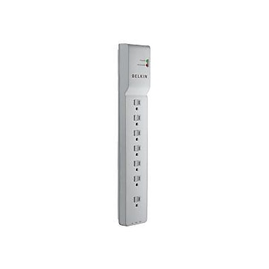 Belkin® BE107200-06 7-Outlets 2320 Joule Home/Office Surge Protector With 6' Cord