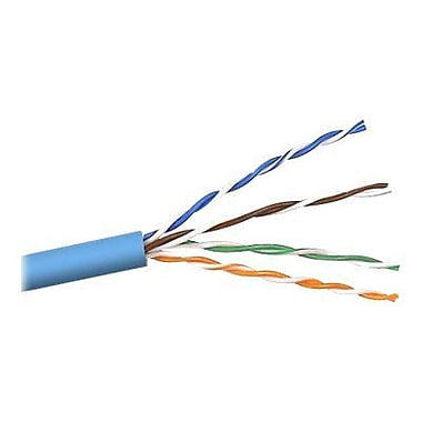 Belkin A7J304-500-BLU 500' CAT-5e Bulk Cable, Blue