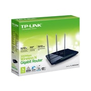 TP-LINK TL-WR1043ND V2 Wireless N300 Gigabit Router, 300Mbps, USB, 3 Antennas, 450Mbps, WPS Button