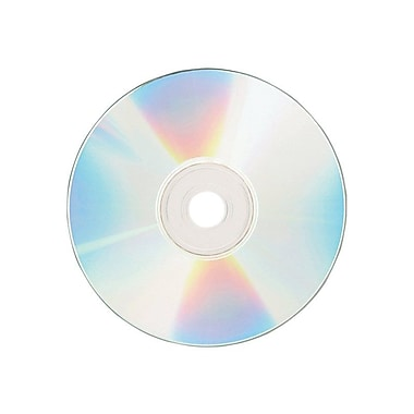 Verbatim® 700MB Shiny Silver CD-R, Spindle, 100/Pack