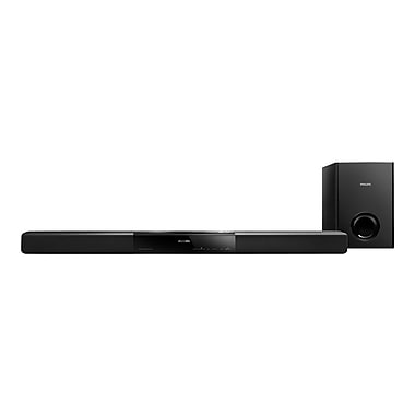 Philips HTL2160/F7 Wireless Soundbar Speaker With Passive Subwoofer and Bluetooth, Black