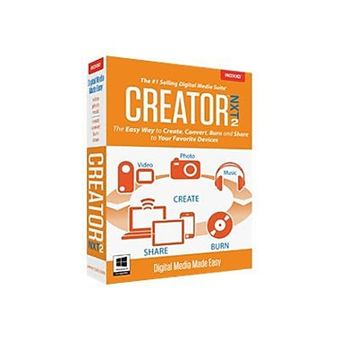 Roxio™ Creator NXT v.2.0 US English Software For Windows