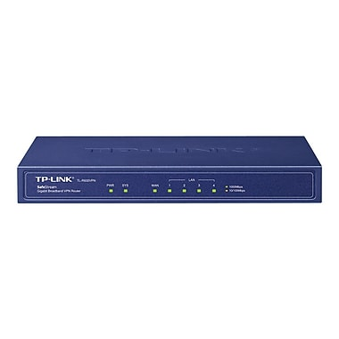 TP-LINK TL-R600VPN Gigabit VPN Router,1 Gigabit WAN port + 4 LAN ports,Supports IPsec,PPTP, L2TP VPN