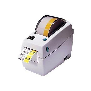 Zebra Technologies® 2824 Plus Series 203 dpi Desktop Printer 6.8in.(H) x 4.4in.(W) x 8 1/2in.(D)