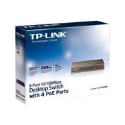TP-LINK TL-SF1008P 10/100Mbps 8-Port PoE Switch, 4 POE ports, IEEE 802.3af, 53W