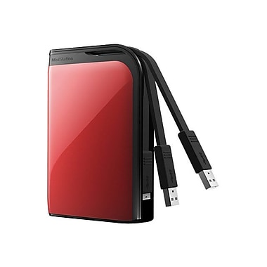 Buffalo™ MiniStation™ Extreme HD-PZ1.0U3R External Hard Drive, 1TB