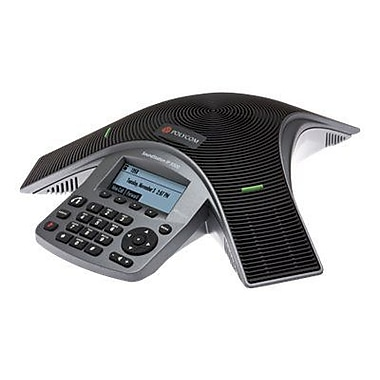 Adtran 1200753G1 SoundStation 4-Line Corded IP Conference Phone, Black