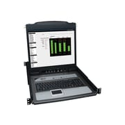 "Tripp Lite B020-U08-19-K NetDirector Console IP KVM Switch With 19"" LCD, 8 Ports"