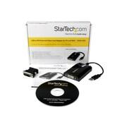 StarTech USB/DVI Female to Male Graphic Adapter, Black
