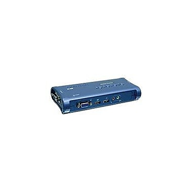 TRENDnet® TK-409K USB KVM Switch Kit, 4 Ports
