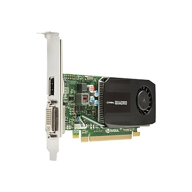HP® NVIDIA Quadro K600 Plug-in Card 1GB DDR3 SDRAM Graphic Card
